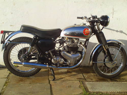1956 BSA ROCKET GOLDSTAR 'RGS' REPLICA SOLD (picture 1 of 6)