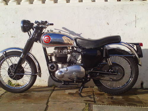 1956 BSA ROCKET GOLDSTAR 'RGS' REPLICA SOLD (picture 3 of 6)