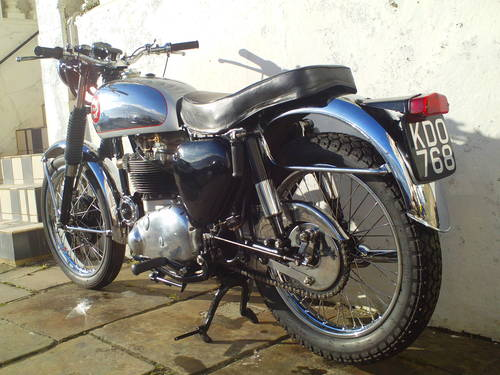 1956 BSA ROCKET GOLDSTAR 'RGS' REPLICA SOLD (picture 4 of 6)