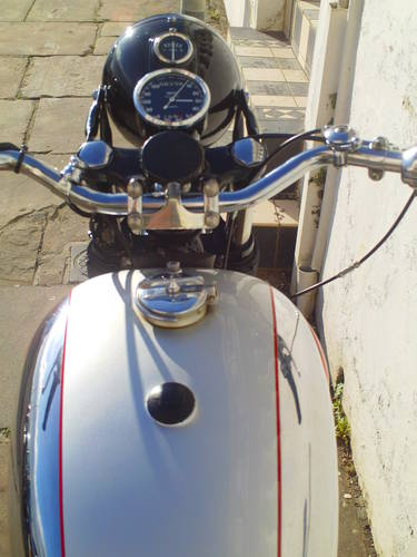 1956 BSA ROCKET GOLDSTAR 'RGS' REPLICA SOLD (picture 5 of 6)