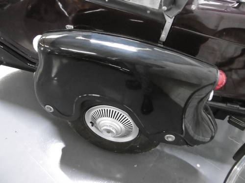 1960 Watsonian Monaco Side car Great condition  SOLD (picture 2 of 6)