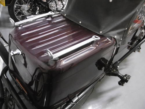 1960 Watsonian Monaco Side car Great condition  SOLD (picture 3 of 6)