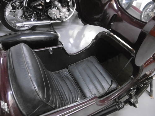 1960 Watsonian Monaco Side car Great condition  SOLD (picture 4 of 6)