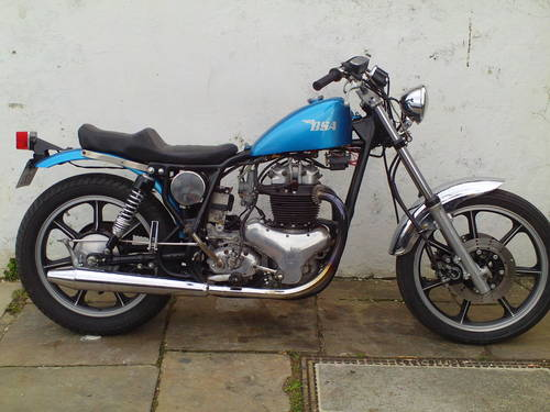 1958 BSA A10 'BOBBER' SOLD (picture 1 of 5)