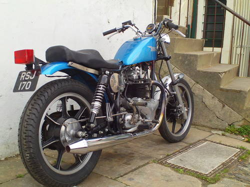 1958 BSA A10 'BOBBER' SOLD (picture 2 of 5)