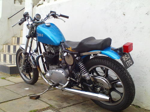 1958 BSA A10 'BOBBER' SOLD (picture 4 of 5)