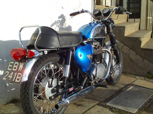 1964 BSA A65 ROCKET SOLD (picture 2 of 6)