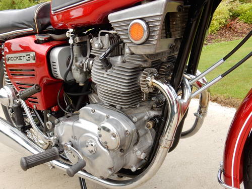 BSA ROCKET 3 1969 750cc MATCHING NUMBERS MOT'd 08/18 For Sale (picture 4 of 4)