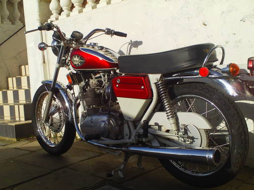 1972 BSA ROCKET THREE A75R MK2  EXPORT SOLD (picture 4 of 6)