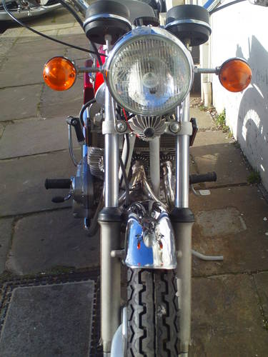 1972 BSA ROCKET THREE A75R MK2  EXPORT SOLD (picture 6 of 6)