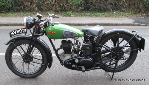 1937 BSA B23  £6750 For Sale (picture 1 of 6)