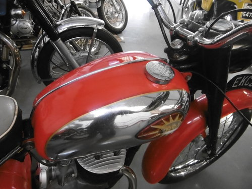 1965 BSA Bantam 175 4 speed Very nice all correct SOLD (picture 3 of 6)