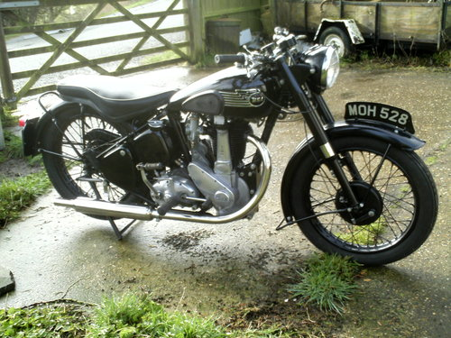 1953 BSA M33 500CC OHV RIGID SOLD (picture 1 of 6)