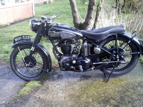 1953 BSA M33 500CC OHV RIGID SOLD (picture 3 of 6)