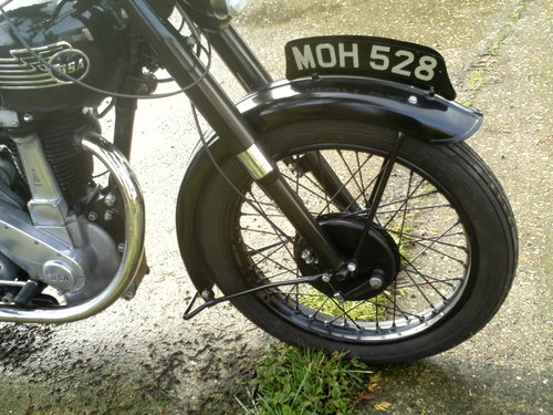 1953 BSA M33 500CC OHV RIGID SOLD (picture 4 of 6)