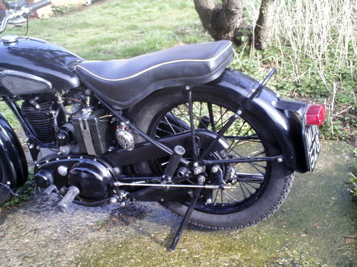 1953 BSA M33 500CC OHV RIGID SOLD (picture 5 of 6)