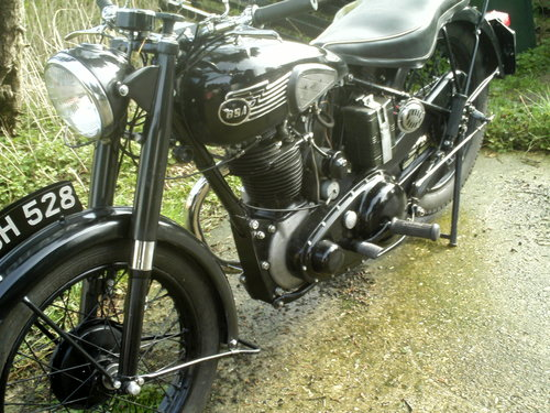 1953 BSA M33 500CC OHV RIGID SOLD (picture 6 of 6)