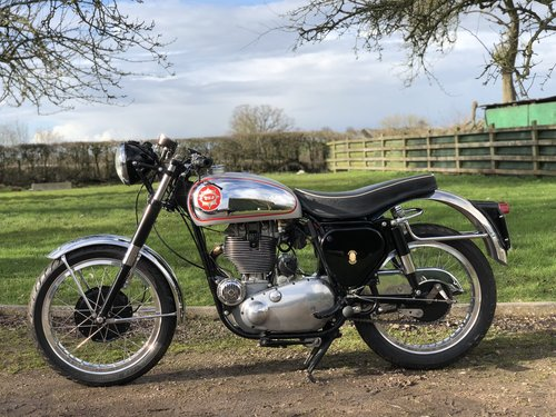 BSA Gold Star DBD34 600cc 1957 Electric Start  SOLD (picture 2 of 6)