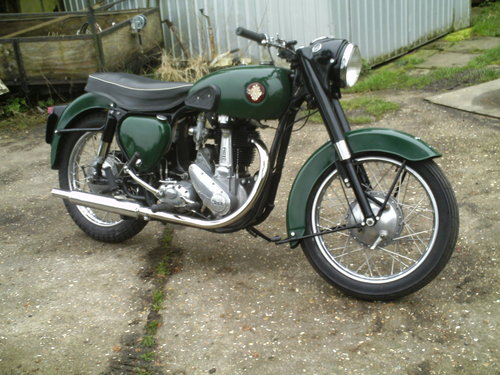 1957 BSA S/A B33 500CC For Sale (picture 1 of 6)