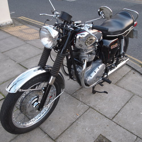1970 A50R 500cc Royal Star, In Beautiful Condition. SOLD (picture 6 of 6)