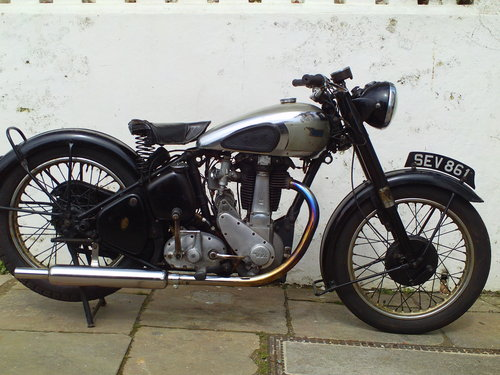 1951 BSA M33 500 SOLD (picture 1 of 6)