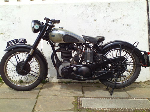1951 BSA M33 500 SOLD (picture 3 of 6)