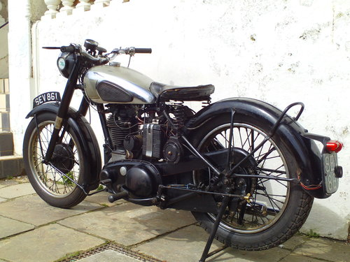 1951 BSA M33 500 SOLD (picture 4 of 6)