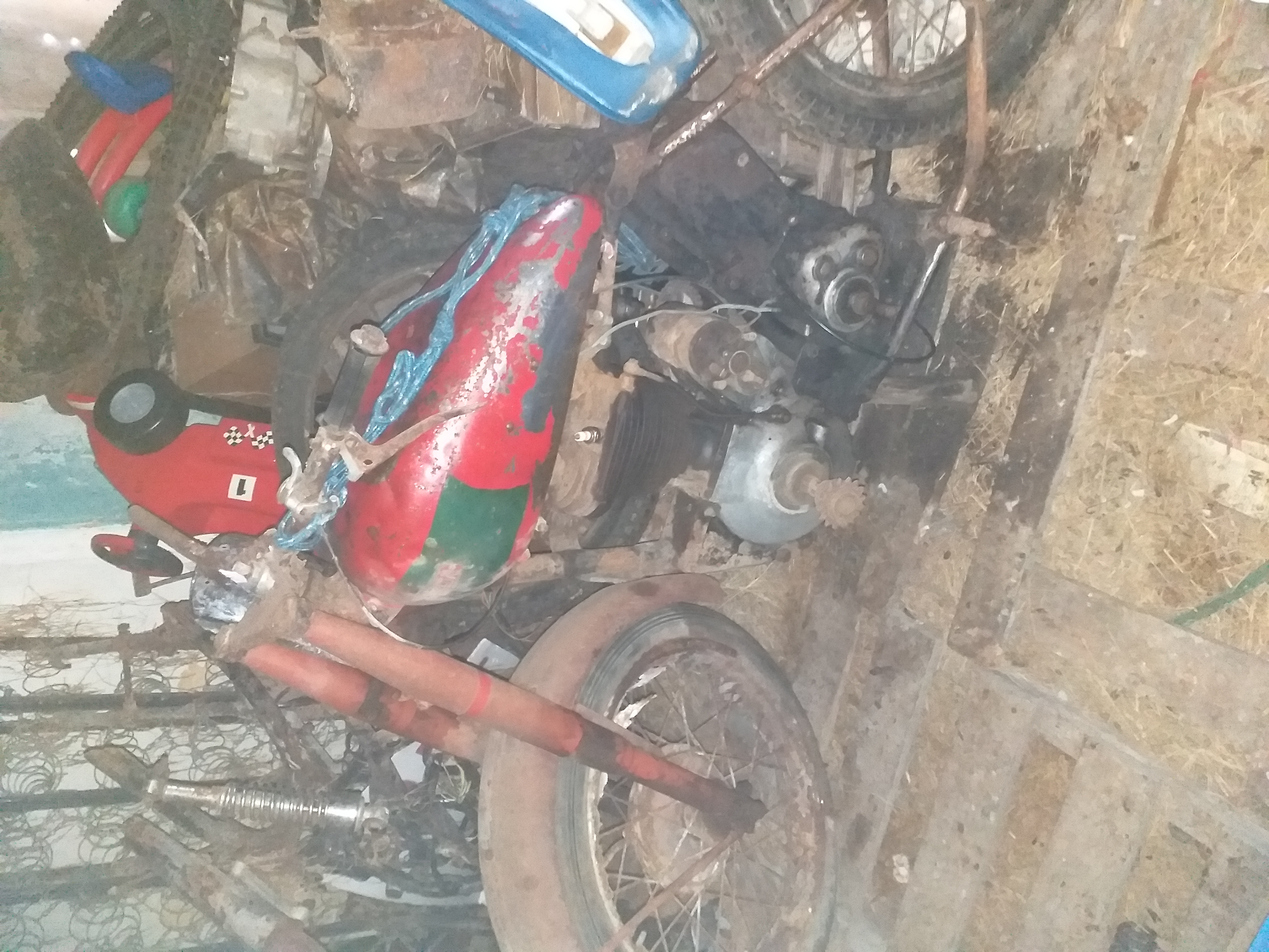 BSA B31  - Barn Find