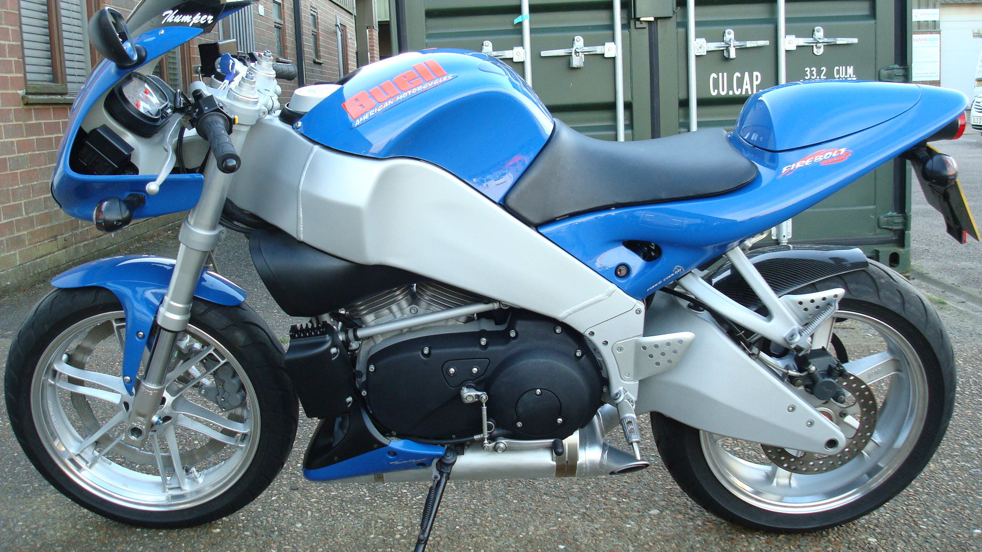 Buell FIREBOLT XB9R 2002-02 **low miles** SOLD (picture 6 of 6)