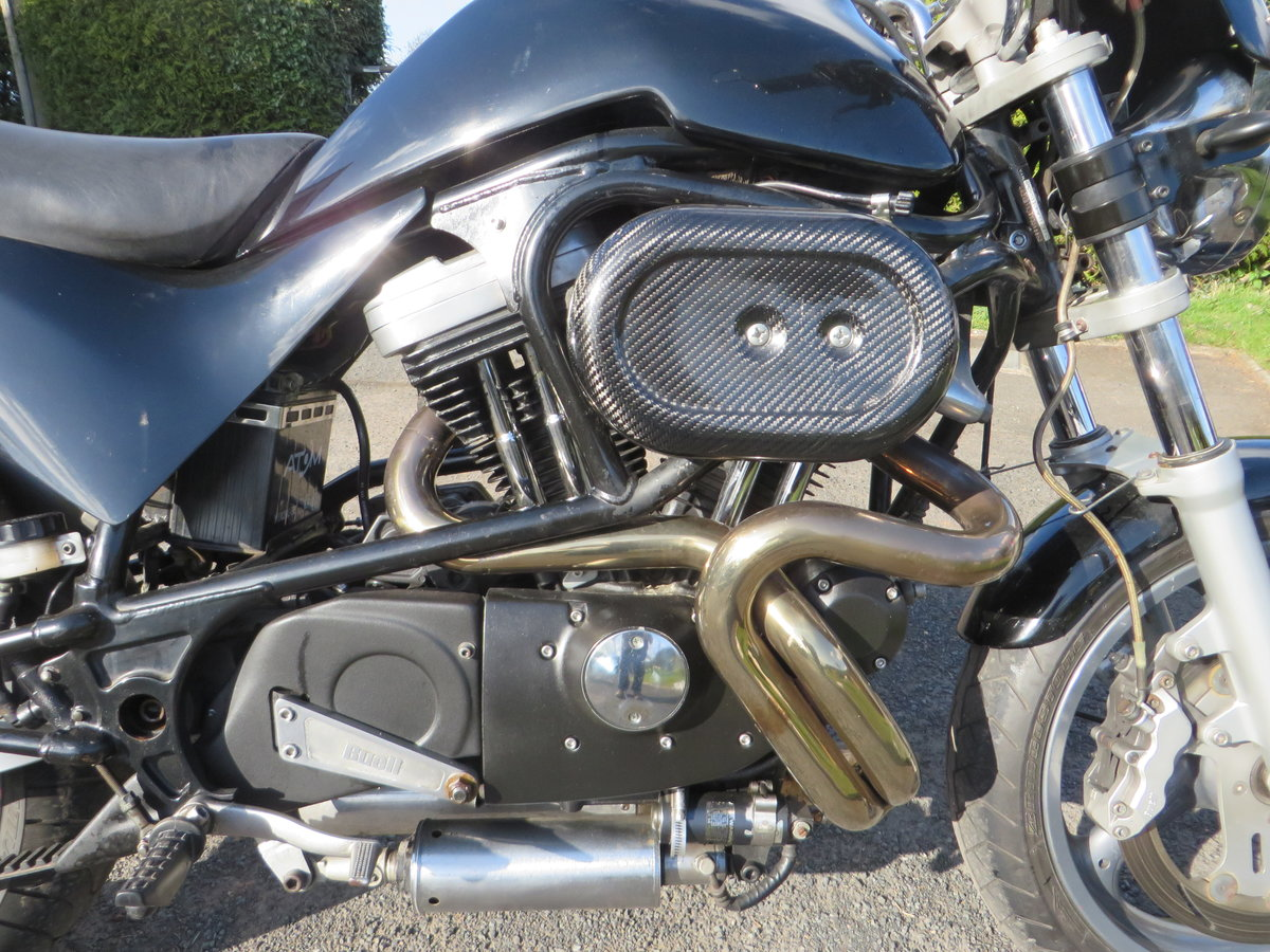 BUELL CYCLONE 1998. VANCE HINES. QUICK ONE. SOLD (picture 2 of 6)
