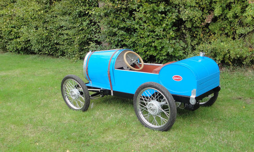 2015 Bugatti Type 13 Brescia 'Soapbox/CycleKart' racer For Sale by Auction (picture 2 of 6)