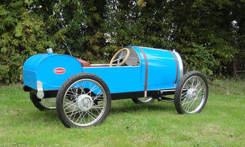 2015 Bugatti Type 13 Brescia 'Soapbox/CycleKart' racer For Sale by Auction (picture 3 of 6)