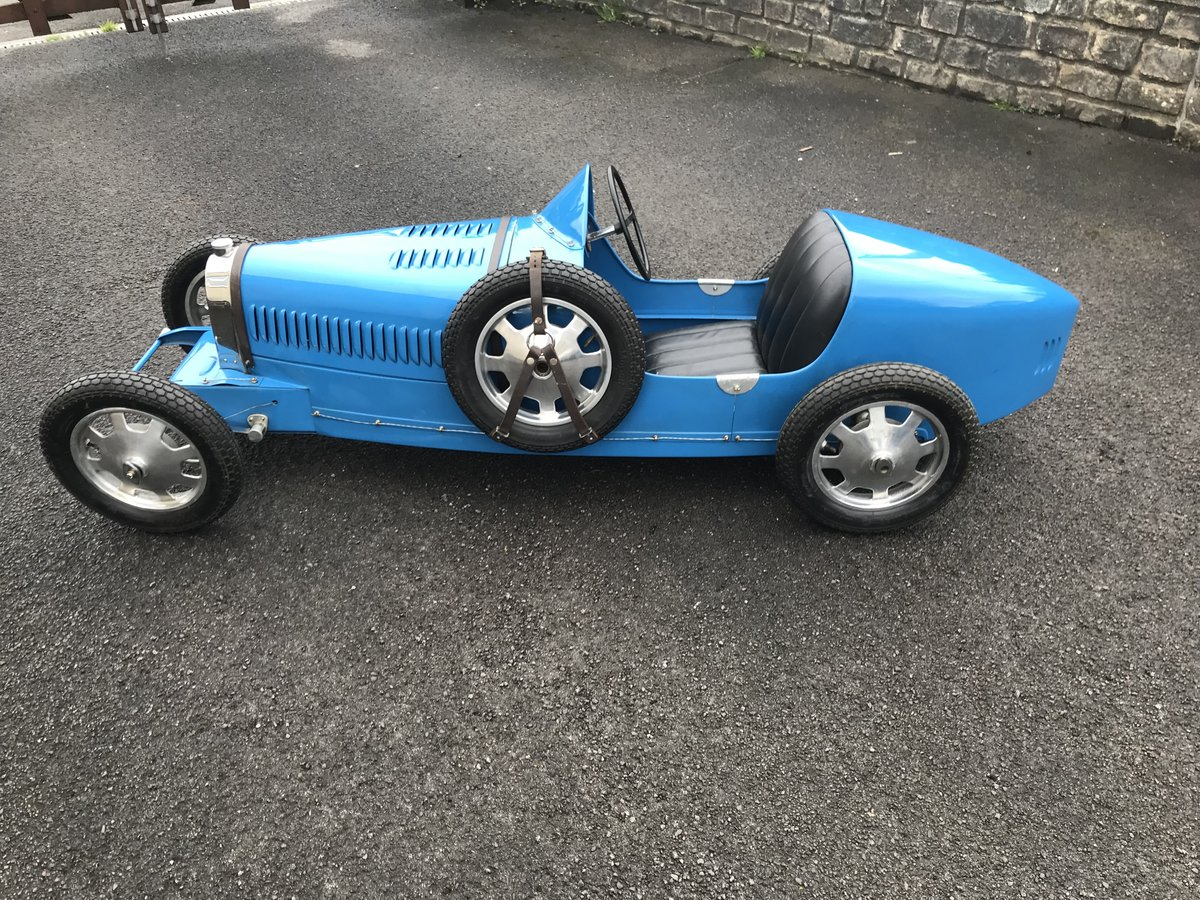 Ac Auto Parts >> Replica 1930 Baby Bugatti Type 52 Electric Car For Sale ...