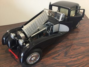 Bugatti royale scale model large 1/16 scale