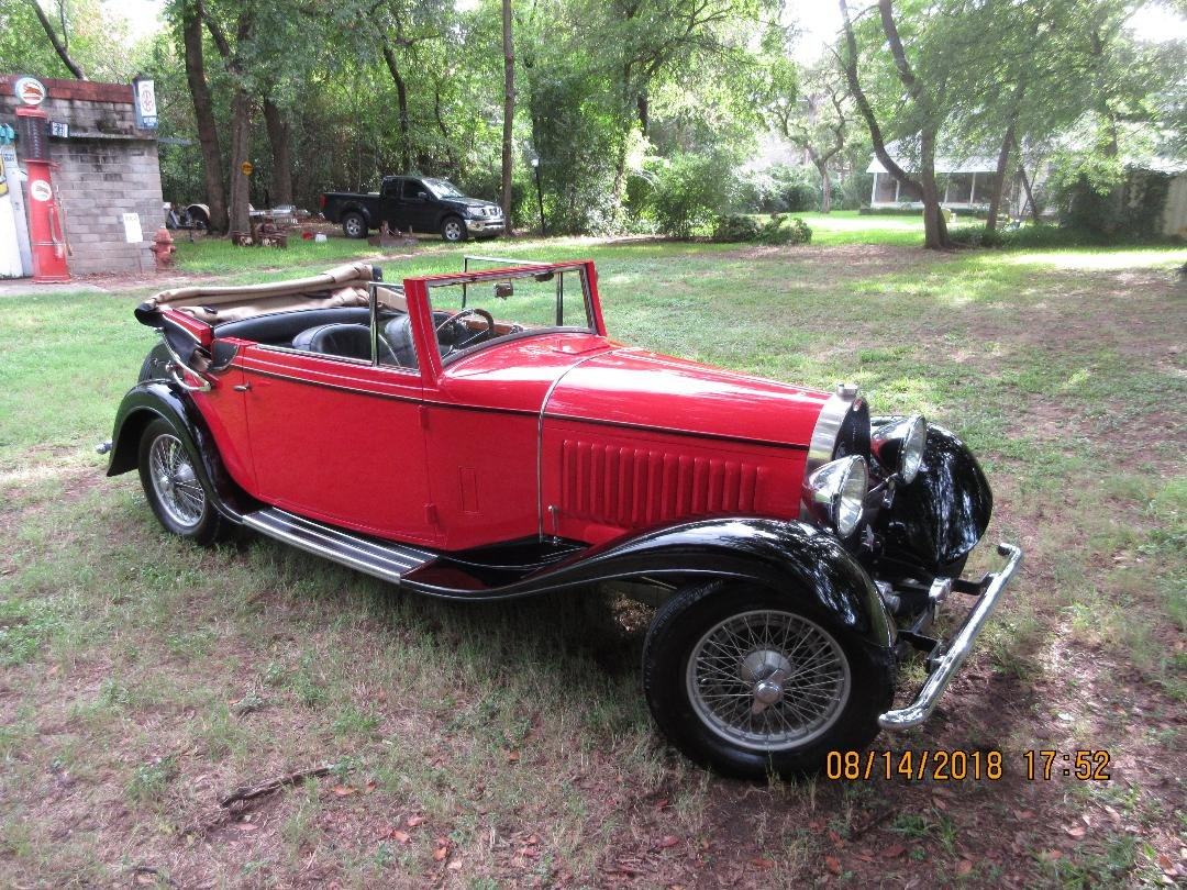 1931 Bugatti type 49,  SOLD (picture 1 of 1)