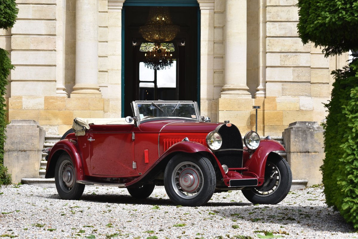 1933 Bugatti 49 Convertible For Sale by Auction (picture 1 of 5)
