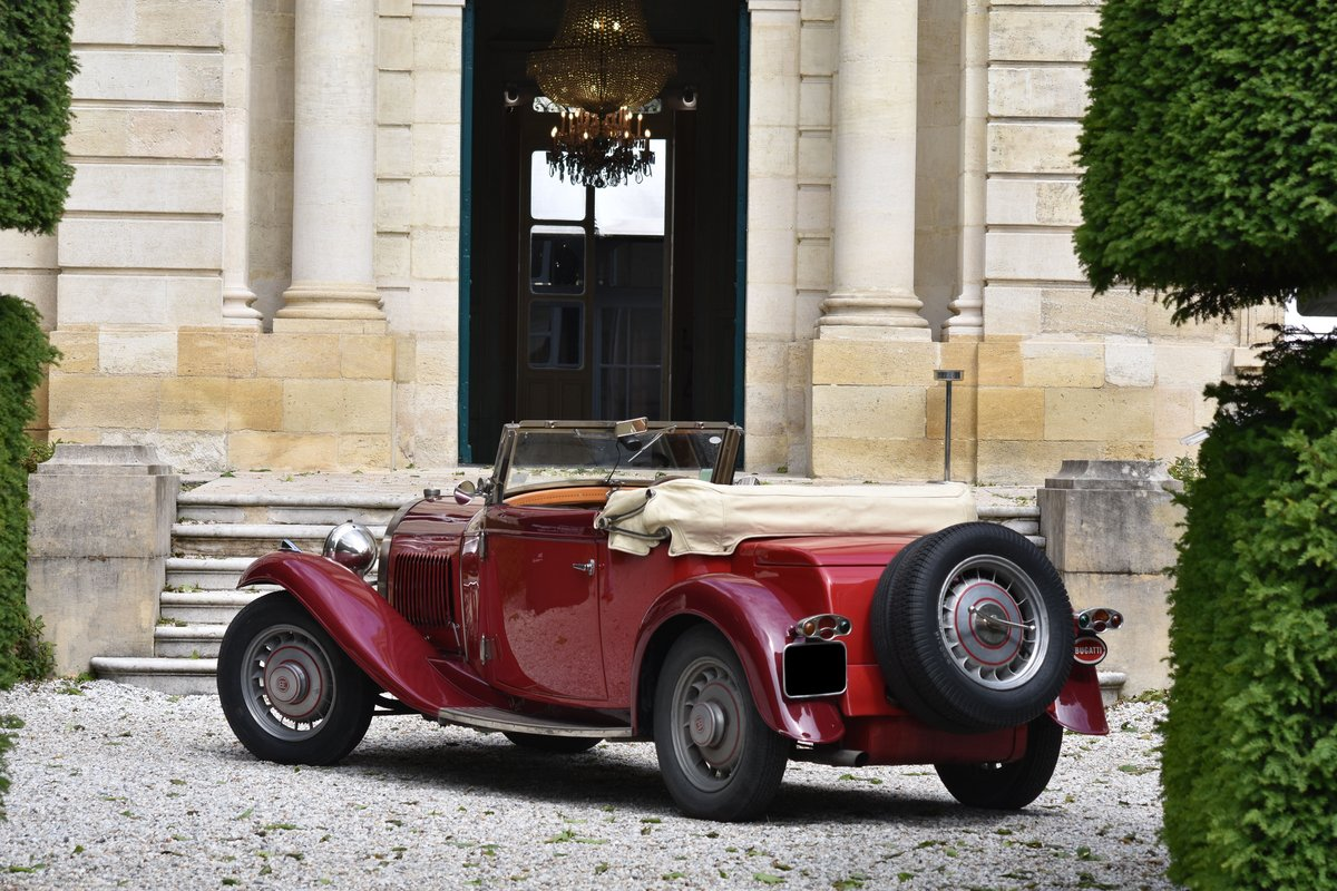 1933 Bugatti 49 Convertible For Sale by Auction (picture 3 of 5)