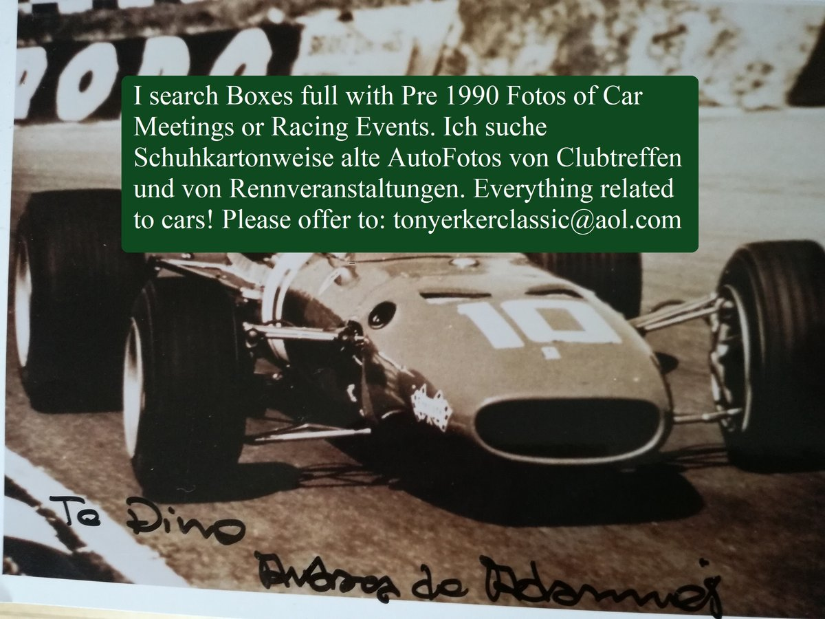 1994 Wanted Car Fotos-Meeting-RaceEvents-More For Sale (picture 1 of 1)