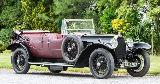 1929 BUGATTI TYPE 44 TOURER For Sale by Auction (picture 1 of 1)