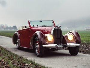 1938 Bugatti Type 57C Stelvio by Gangloff For Sale by Auction