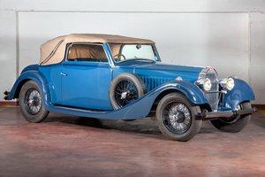 1934 Bugatti Type 57 Cabriolet par Vanvooren For Sale by Auction
