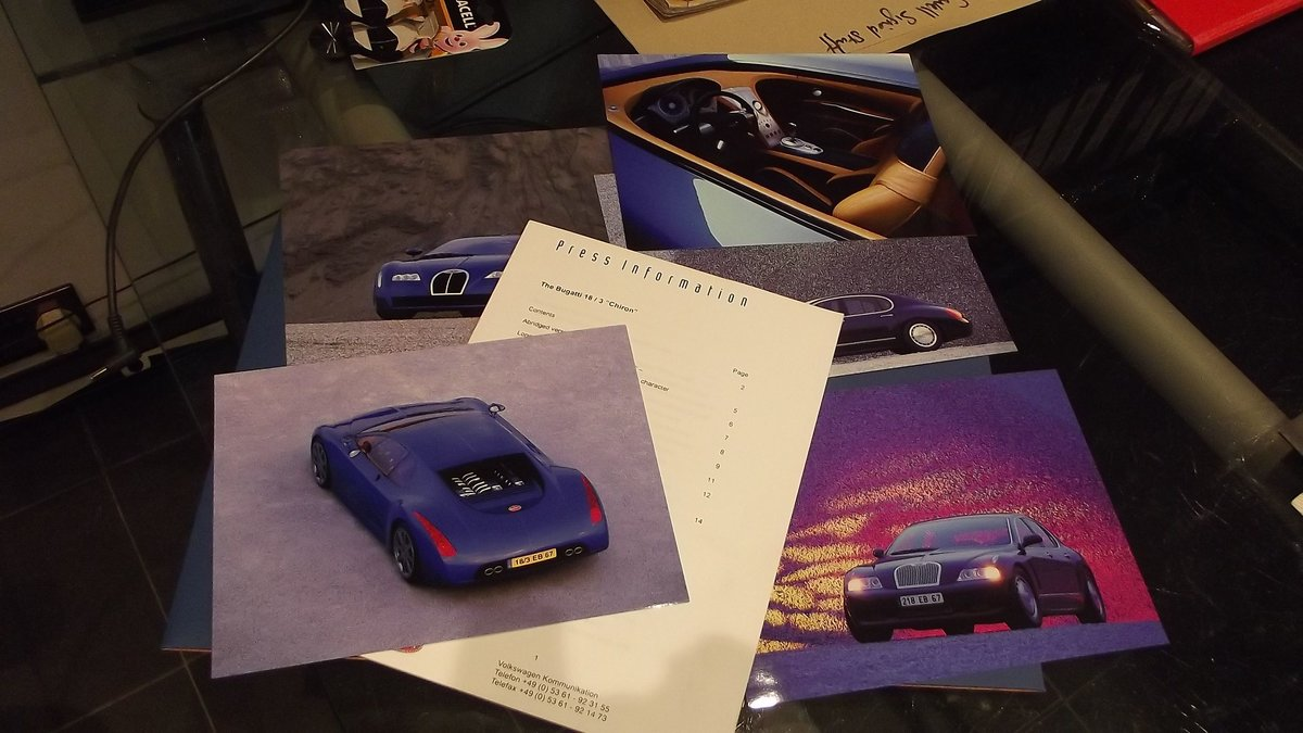 2000 bugatti sales brochure and framed christies auctin poster 90 For Sale (picture 2 of 4)