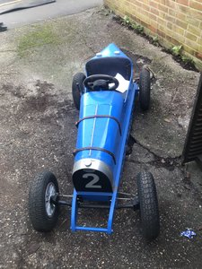 Child's bespoke buggati type 35 junior car 24v