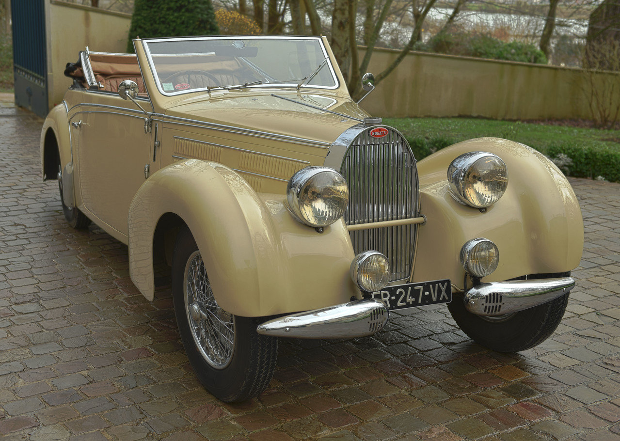 1939 BUGATTI TYPE 57C STELVIO CABRIOLET  BY GANGLOFF For Sale (picture 1 of 6)