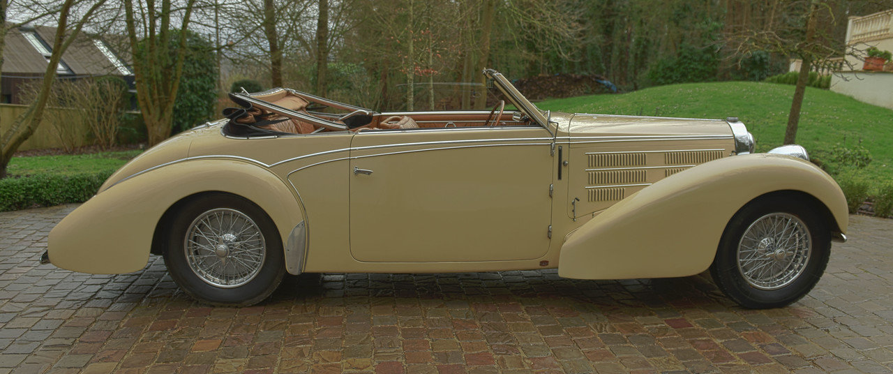 1939 BUGATTI TYPE 57C STELVIO CABRIOLET  BY GANGLOFF For Sale (picture 2 of 6)