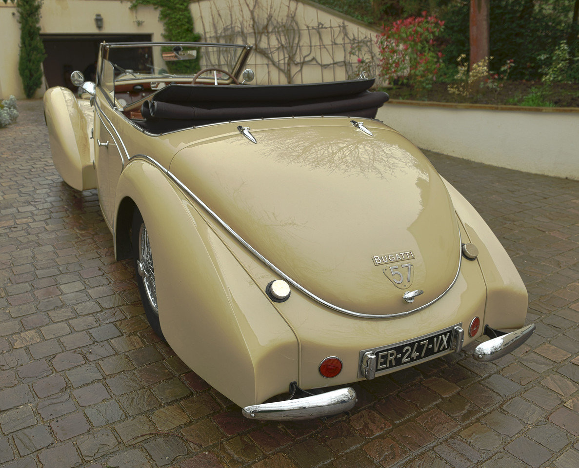 1939 BUGATTI TYPE 57C STELVIO CABRIOLET  BY GANGLOFF For Sale (picture 3 of 6)