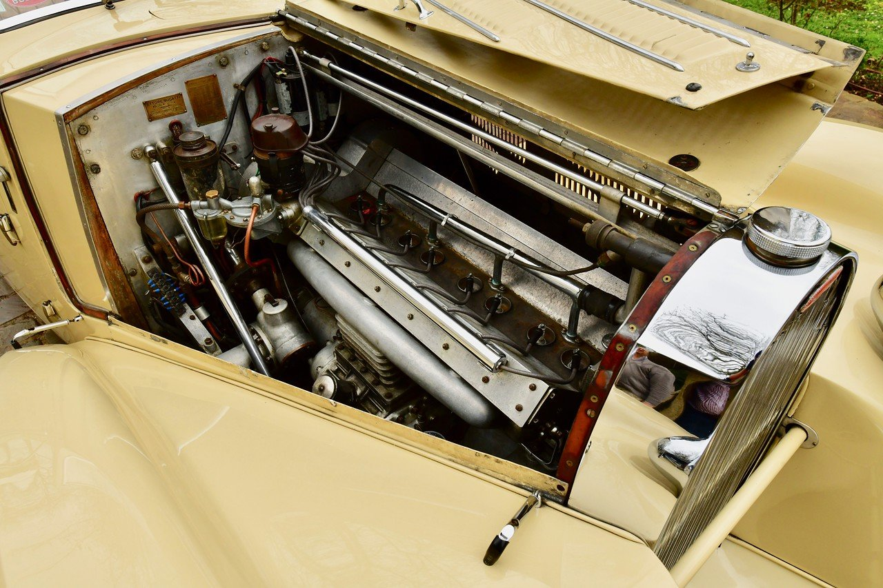 1939 BUGATTI TYPE 57C STELVIO CABRIOLET  BY GANGLOFF For Sale (picture 6 of 6)