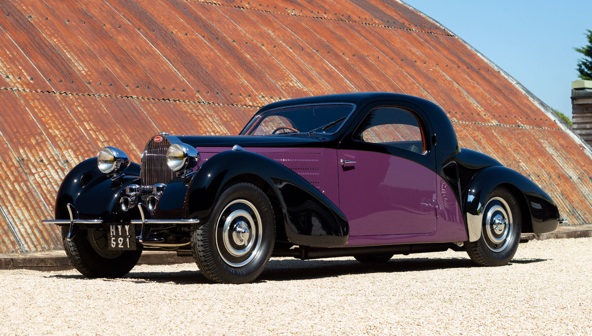 1938 Bugatti Type 57 Atalante by Gangloff SOLD (picture 1 of 24)