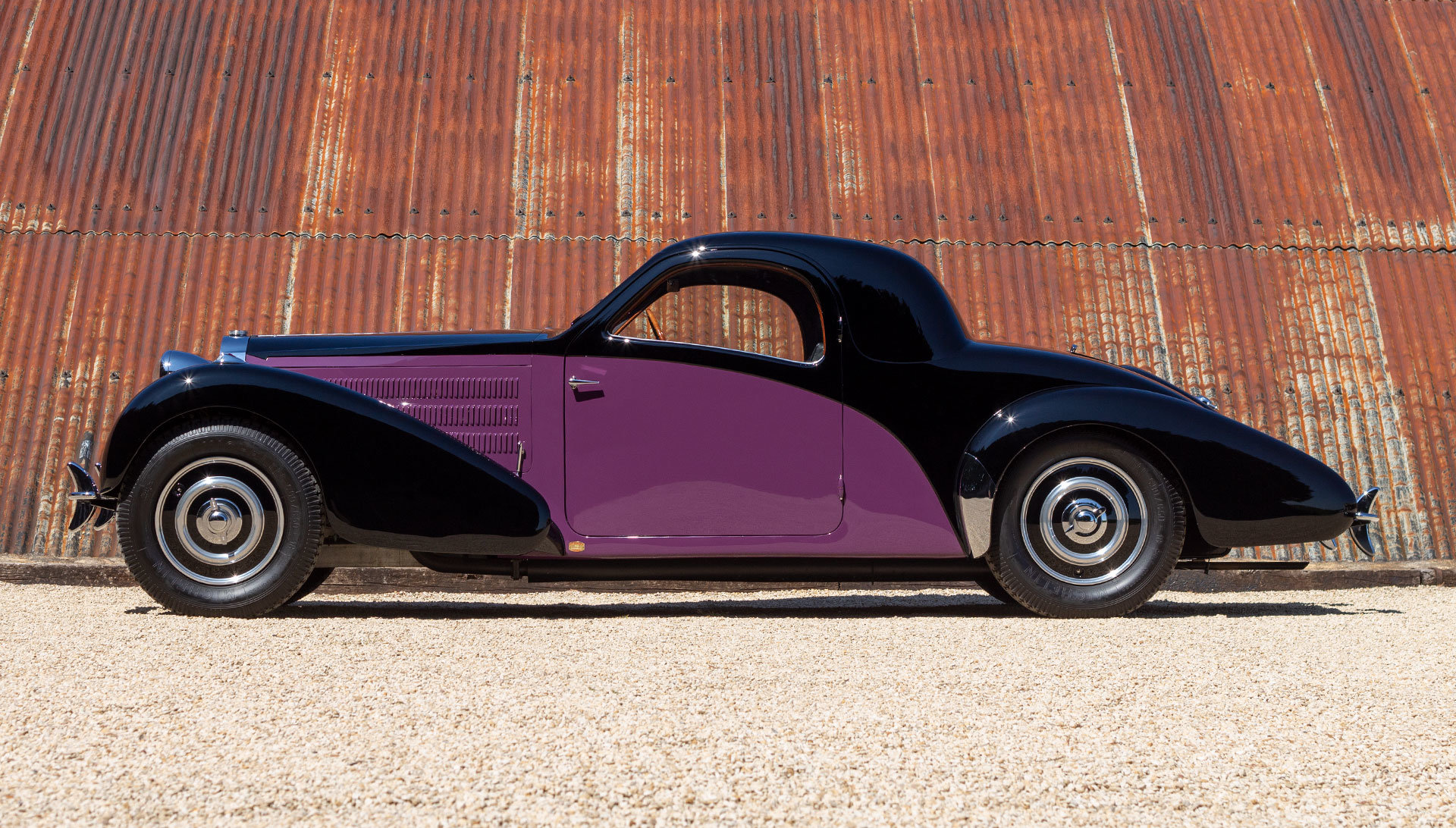 1938 Bugatti Type 57 Atalante by Gangloff SOLD (picture 2 of 24)