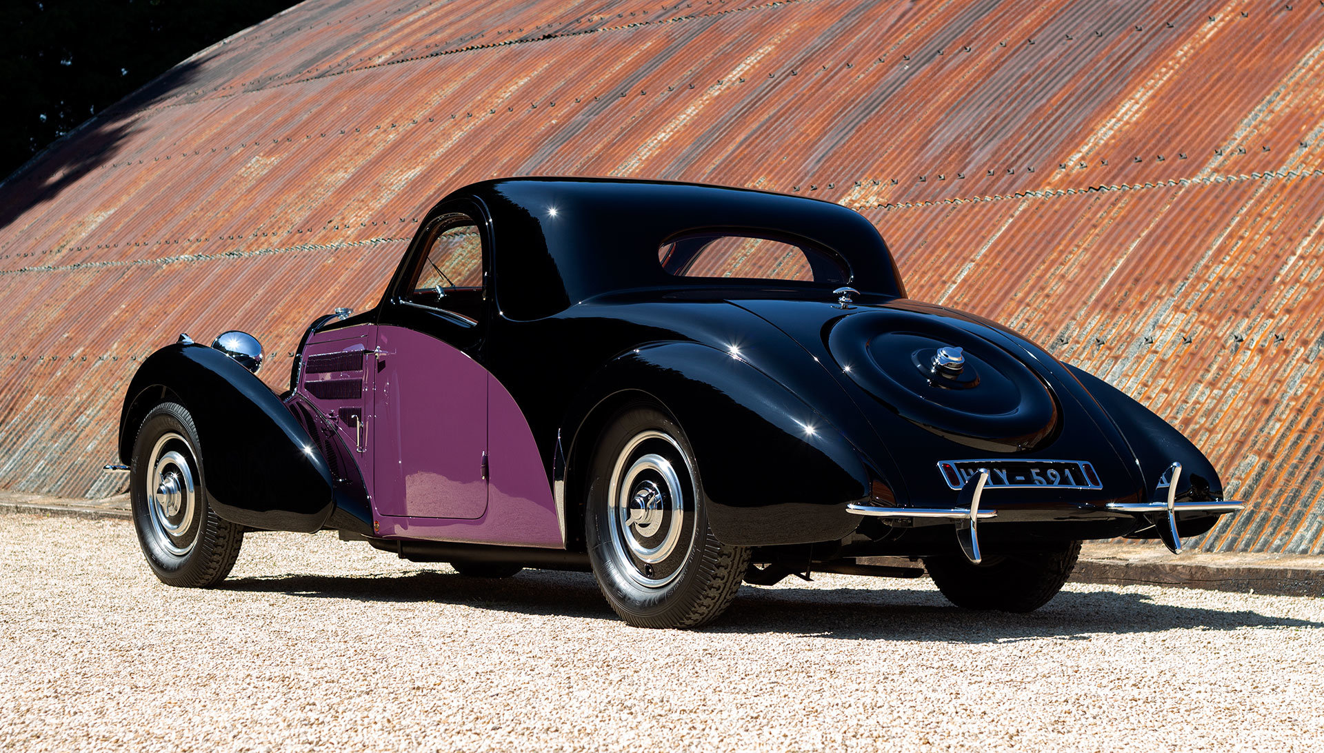 1938 Bugatti Type 57 Atalante by Gangloff SOLD (picture 3 of 24)